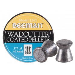 Beeman Wadcutter Coated .177 Cal, 7.8 gr - 250 ct