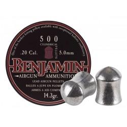 Benjamin Cylindrical .20 Cal, 14.3 gr - 500 ct