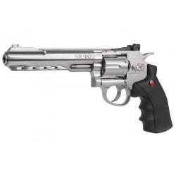 Crosman SR357 BB Revolver, Nickel