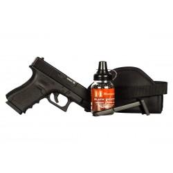Glock 19 Gen. 3 BB Pistol, Black Ops Combo