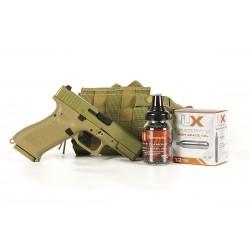 Glock 19X BB Pistol Essentials Combo, Tan