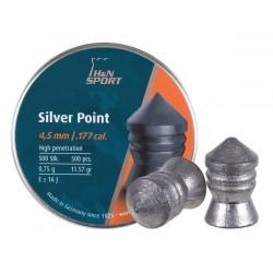 H&N Silver Point .177 Cal, 11.57 gr - 500 ct