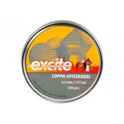 H&N Excite Coppa-Spitzkugel .177 Cal, 7.56 gr - 500 ct