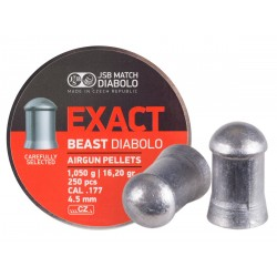 JSB Diabolo Exact Beast .177 Cal 16.2 gr - 250 ct