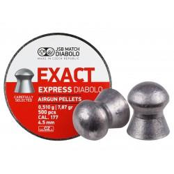 JSB Diabolo Exact Express .177 Cal, 7.87 gr - 500 ct