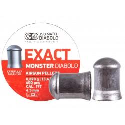 JSB Diabolo Exact Monster .177 Cal, 13.4 gr - 400 ct