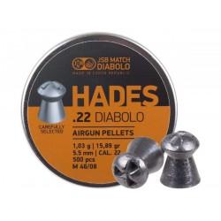 JSB Match Diabolo Hades .22 Cal, 15.89 gr - 500 ct