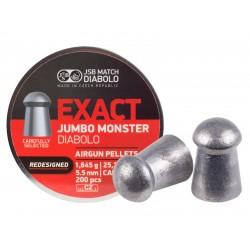 JSB Diabolo Exact Monster Redesigned .22 Cal, 25.39 gr - 200 ct